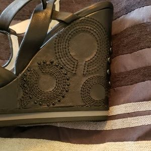 Coach Shoes - Coach wedge heels shoes
